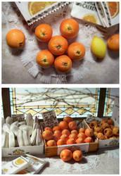 Wee Oranges by MrsCreosote
