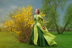 Costume 'Young leaves' by Aquilina-das
