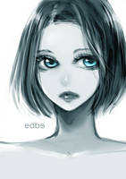 Blue eyes by miss-edbe
