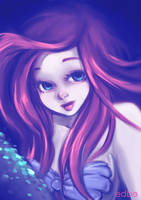 The Little Mermaid by miss-edbe
