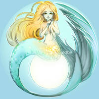 Blond Mermaid by miss-edbe