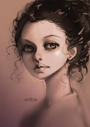 Portrait [Ref study] by miss-edbe