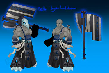 AQW armor - Legion Head Cleaver by ErgotthVonHohenheim