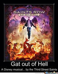 Saints Row Motivational Poster by slyboyseth