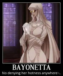 Bayonetta Motivational Poster 4 by slyboyseth
