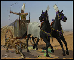 Pharaoh's hunting by deadheart82