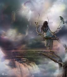 Strange dreams two raven by An-gora