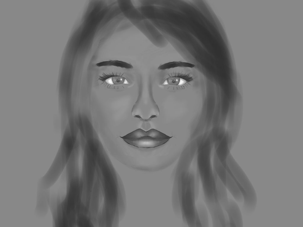 Face Realist WIP by CrystalBuilder