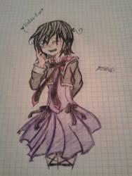 Yannicko en vestido :'D by Michu-Yuro