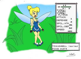Don't bother a Fairy Type_Ash to Tinkerbell TG 5 by NADMH