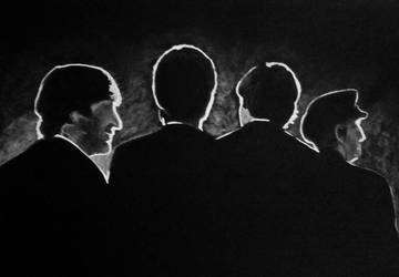 Beatles in Darkness by bizdikbirt