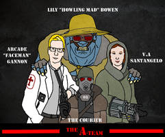 The New Vegas A-Team by UndeadNed