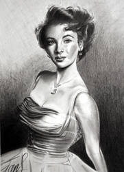 Elizabeth Taylor by smiffychap