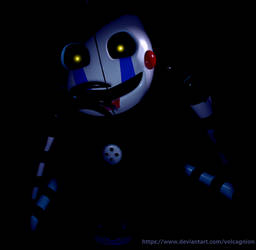 FNaF Render||Silence and rest by Volcagnion