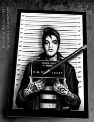 Elvis Mugshot by MarcusJones