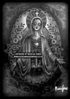 Tattoo Mary by MarcusJones