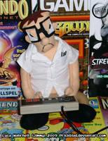 AVGN plush doll by Prickblad