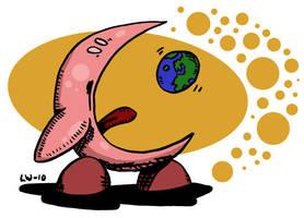 Kirby Eat World by Prickblad