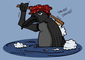 A crow by Prickblad