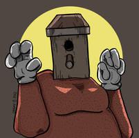 Birdhouse, the villain! by Prickblad