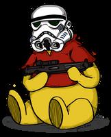 Pooh the Stormtrooper by Prickblad