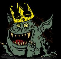 Ugly King of Trolls by Prickblad