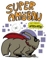 Super Amoba and the sidekick Myrsloken by Prickblad