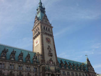 Hamburg Rathaus by warlock6