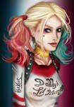 Suicide Squad Harley Quinn (Margot Robbie) by KazXart