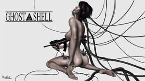 Ghost in the Shell Scarlett Johanson by KazXart