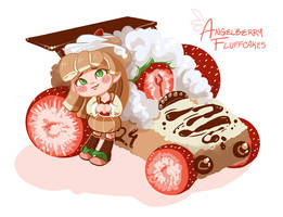 Sugar Rush: Angelberry Fluffcakes by captainashletART
