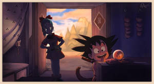 Dragon Ball Begins by lord-phillock