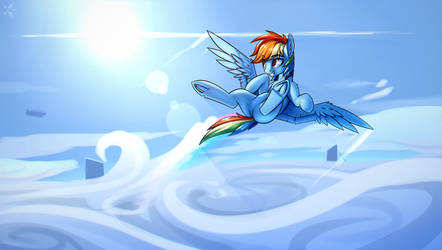 Chasing the sunshine by StarFall-Spark