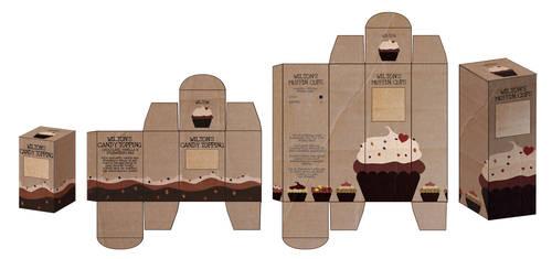 muffin box by MagdalenaKapinos
