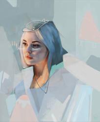 pastel samurai by MagdalenaKapinos