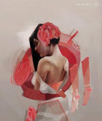 Red Study by MagdalenaKapinos