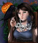 Happy Halloween :) by M4riDraw