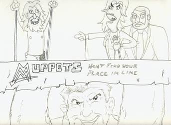 WWE Muppets by weezel365