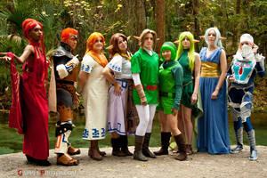 The Legend of Zelda by zippertan