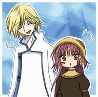 Fay and Kobato by nekonie