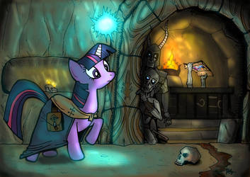 Lifting the Darkness - A Pony Skyrim Tale by SnipperWorm