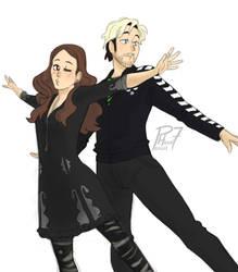 Let's dance by pencilHead7