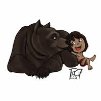Jungle Book by pencilHead7