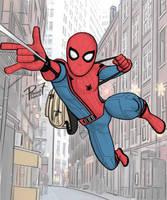 Swinging to School by pencilHead7