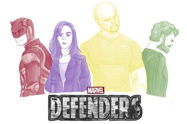 Defenders by pencilHead7
