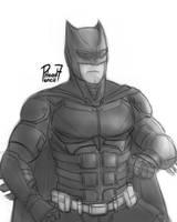Batman's new gear by pencilHead7