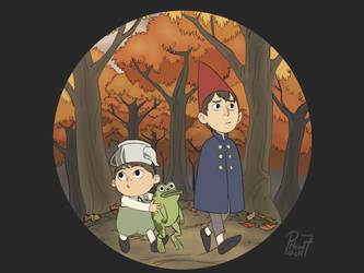 Over the Garden Wall by pencilHead7