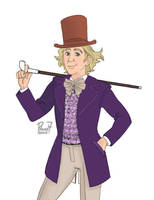 Willy Wonka by pencilHead7