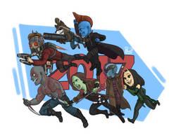 Guardians of the Galaxy Vol 2 by pencilHead7