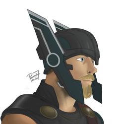 Gladiator Thor by pencilHead7